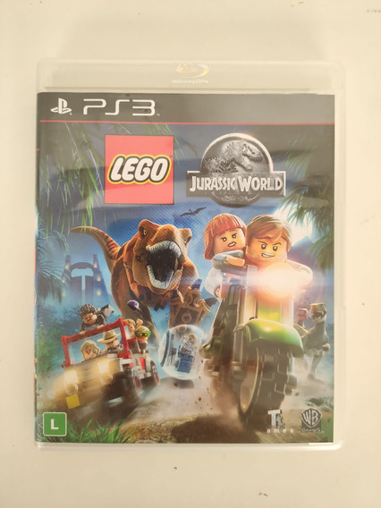 Lego Jurassic World Midia Fisica Ps3 Seminovo Usado