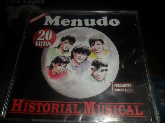 Cd Menudo Historial Musical Nuevo