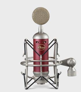 Micrófono De Condensador Blue Spark Sl Con Caja De Madera !!