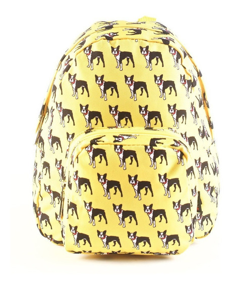 Mochila De Perritos Pet Friends Amarillo 10