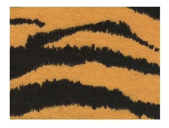 Fieltro Impreso Tiger Animal Print 30,4cmx22,2cm