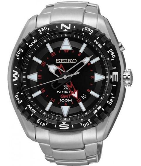 Relógio Seiko Masculino Prospex Kinetic Sun049b1 Lindo