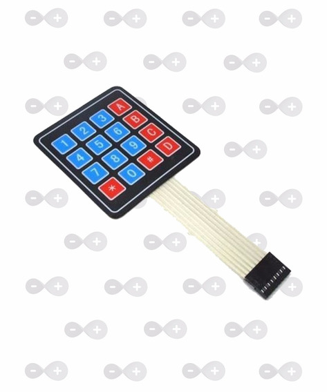 10x Teclado Matricial 4x4 Arduino - Teclado Membrana Arduino