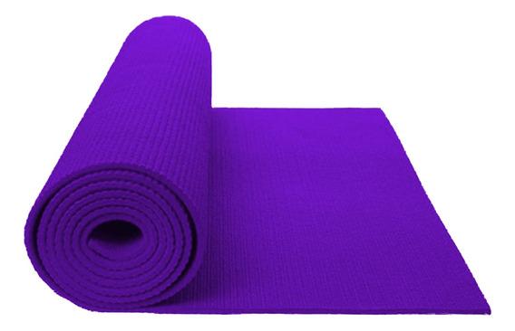 Colchoneta Mat Yoga Atletic 4mm Lila