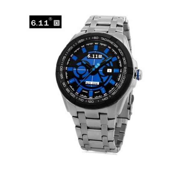 6.11 No - 006 Hombre Fotovoltaica Reloj De Cuarzo Mineral De