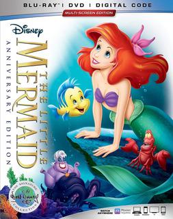 Blu-ray : The Little Mermaid 30th Anniversary Signature...