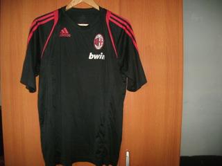 Camisa Do Milan Da Itália - Treino