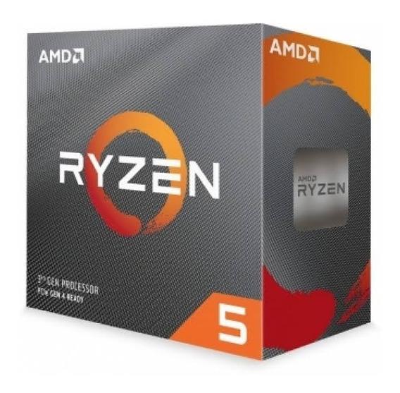 Processador Amd Ryzen 5 3600 Hexa-core 3.6ghz (4.2ghz Turbo) 35mb Cache Am4, Yd3600bbafbox