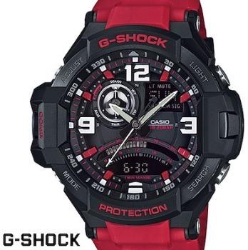 Relogio Casio G-shock Ga-1000-4b Vermelho Original Ga1000