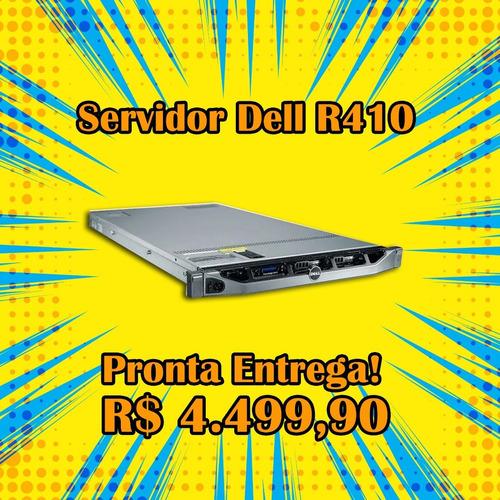 Imagem 1 de 3 de Servidor Dell R410 Quadcore 2.93 / 16gb / 2 Hds 250 Gb