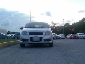 Chevrolet Aveo 1.6 L Pqt. J Plata 2016 En Puebla
