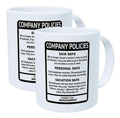 Paquete De Wampumtuk De 2 Politicas De La Empresa Oficina D