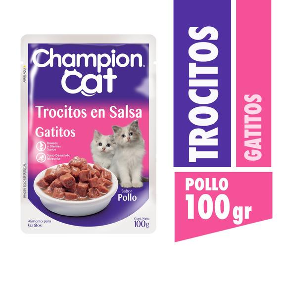 Champion Cat Pouch Gatitos 24 X 100 G