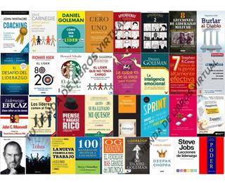 Coleccion De Libros De Liderazgo Y Motivacion