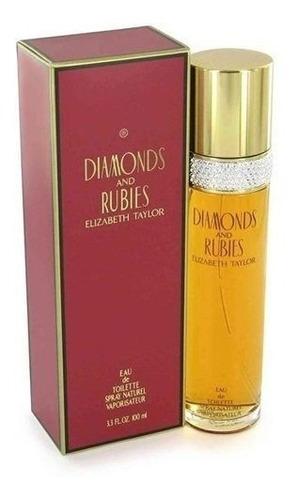 Perfume Locion Diamantes Y Rubies Mujer - L a $800