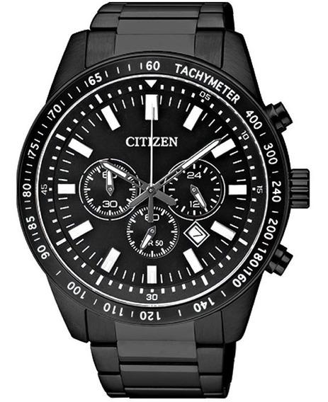 Relógio Citizen Masculino Cronógrafo Preto - Tz30802p