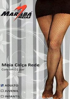 Meia-calça Rede Maraba 461 Adulto - Tamanho Único