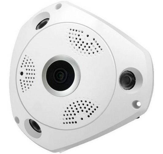 Vr Cam Câmera Panorâmica 3d 1.3mp 360º
