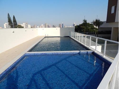 Apartamento Com 2 Dormitórios À Venda, 60 M² Por R$ 436.000,00 - Campestre - Santo André/sp - Ap6088