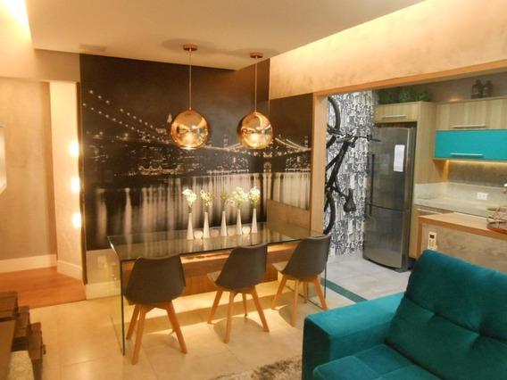 Apartamento Com 1 Dormitório À Venda, 59 M² Por R$ 450.000,00 - Encruzilhada - Santos/sp - Ap4386