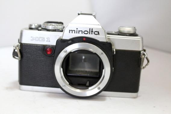 Câmera Fotografica Minolta Xg 1 Colecionadores Retirada Peça