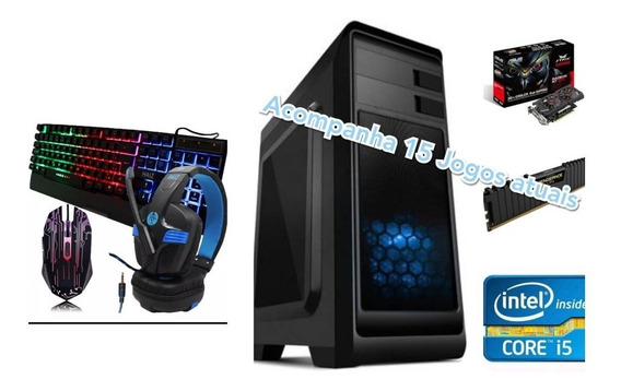 Pc Gamer I5 / 8gb Ram / Hd 1 Tb/ R7 370 4gb 256/ Ssd 120 Gb