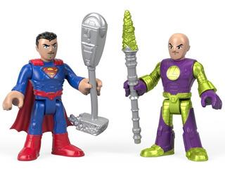 Dc Imaginext Super Friends Superman & Lex Luthor 2018