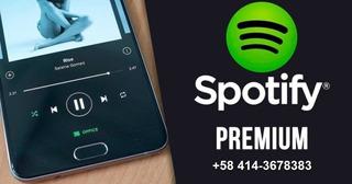 Sptify 01 Premium 1/3/6/12 Month / Original / Desde 2 U S