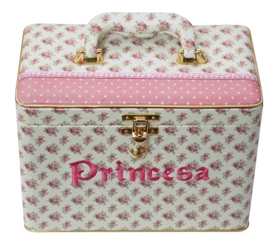 Álbum Box Luxo Princesa Menina Flor Rosa 200 Fotos 15x21