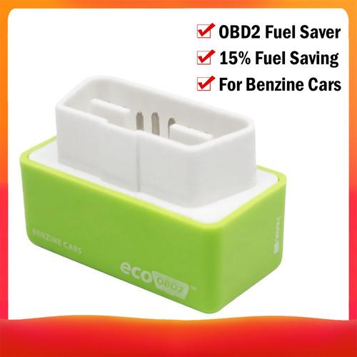 Imagen 1 de 6 de Eco Obd-2 Universal Benzine Economy Fuel Saver Tuning Box