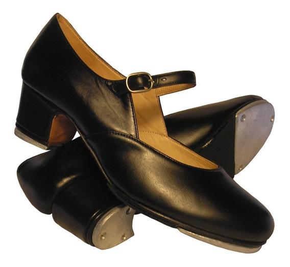 Zapato De Tap Preparado (con Chapas)