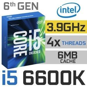 Processador Intel I5 6600k Lga1151