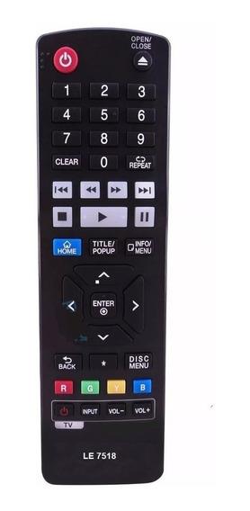 Controle Para Blu-ray LG Akb73735801 Bp440 Bp530 Bp630