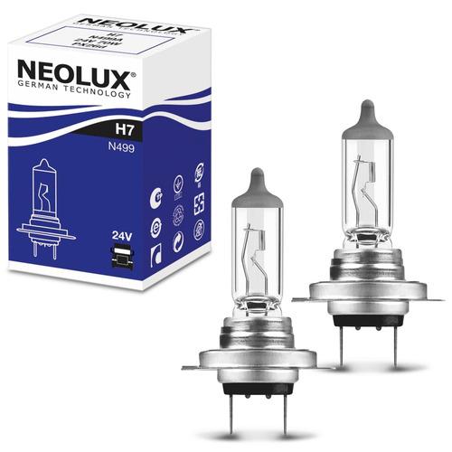 Par Lâmpada Halógena Neolux Standard H7 3200k 70w 24v