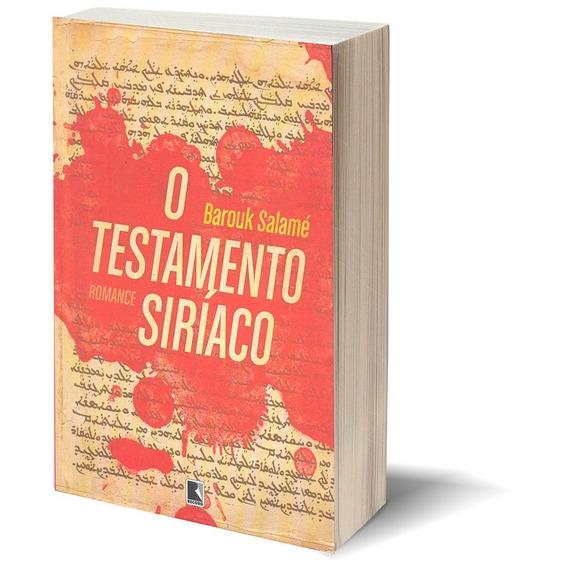 Livro Romance O Testamento Siríaco Barouk Salamé Record