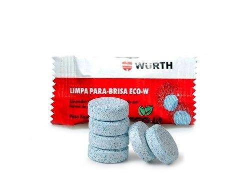 Limpador Para-brisa Pastilhas - Wurth 5g ( 20 Unidades )