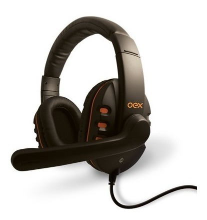 Headset Action Hs200 Oex Gamer Pc Novo + Adaptador Ps4