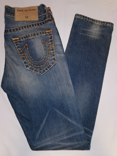 Jeans True Religion Hombre Geno Slim Super T 7029 Mercado Libre