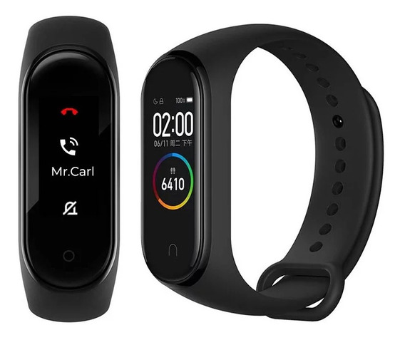 Smartwatch Xiaomi Miband4 C/rastreador E Batimento