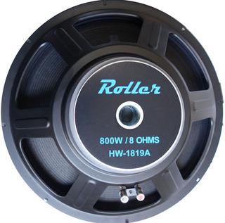 Subwoofer Roller 18 Pulgadas 500 Watts Parlante Hw1819a