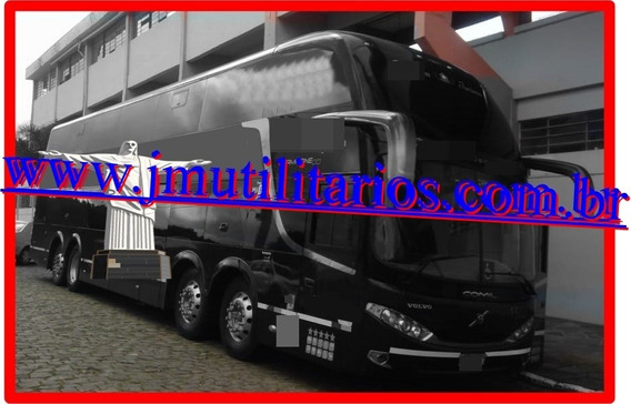 Comil Hd Dd Ano 2015 Volvo B450r 56 Lug Completo Jm Cod.111