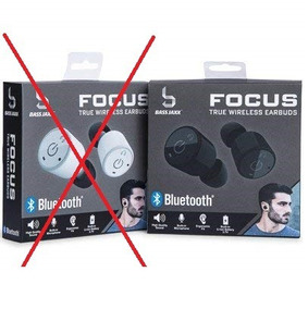 Fone De Ouvido Wireless Focus Bass Jaxx Original