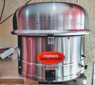 Forno De Pizza Paulistano Promoção Relampago Faz Pizza 40 Cm