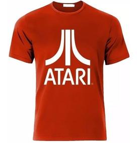 Camiseta Estampada Atari / Roja