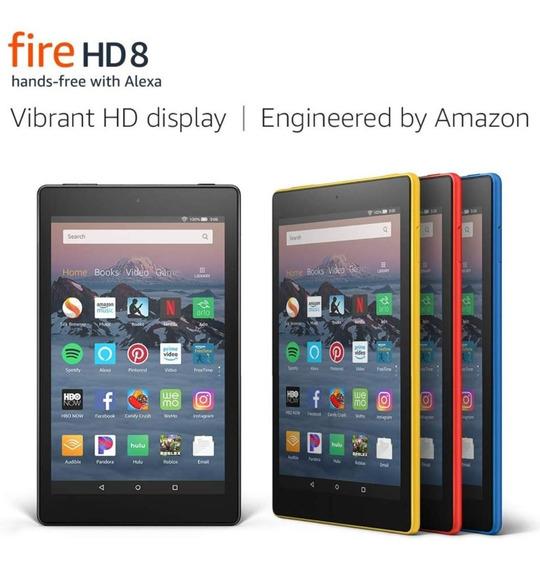 Tablet Kindle Fire Hd 8 (100) 16gb Tienda Chacao Garantia