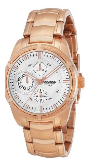 Relógio Seculus Moderno 48064lpsgra3