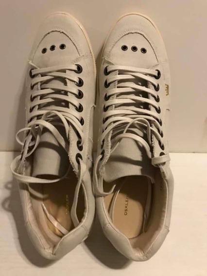 Sapato Osklen Riva Em Lona Novo