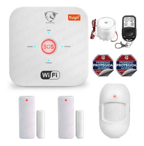 Imagen 1 de 9 de 5 Alarma Wifi Anti Robo App Google Alexa Seguridad Casa Safe