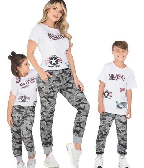 Tres Conjuntos Deportivos Blusa Y Jogger De Mama Hijo Hija
