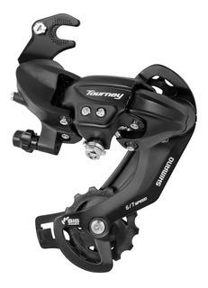 Cambio Traseiro Shimano Tourney Ty300 Com Gancheira 6v 7v 8v